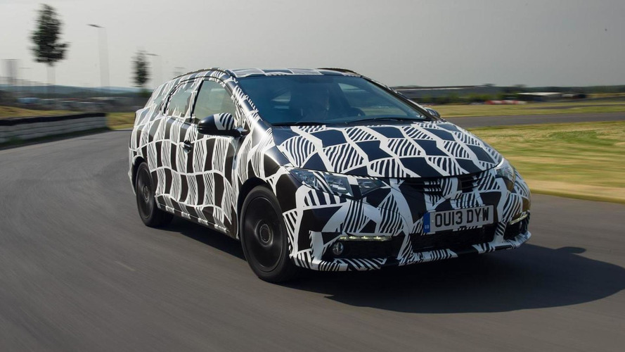 2014 Honda Civic Tourer confirmed for Frankfurt Motor Show arrival