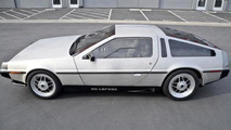 DeLorean DMC-12 with Buick engine
