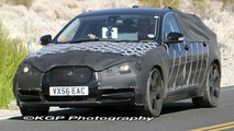 Jaguar XF with Less Frontal Camouflage