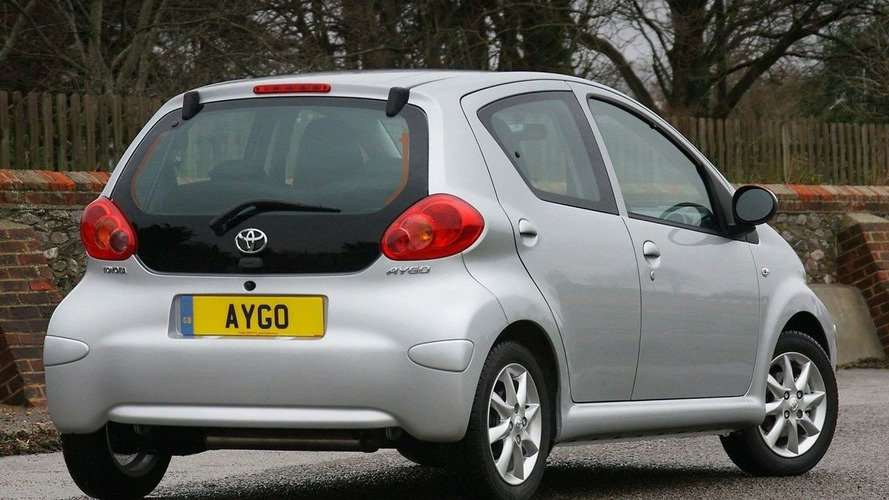 Toyota Aygo Platinum Edition (UK)