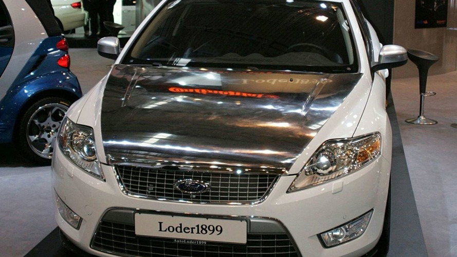 New Ford Mondeo Receives Special Loder1899 Designer Outfit