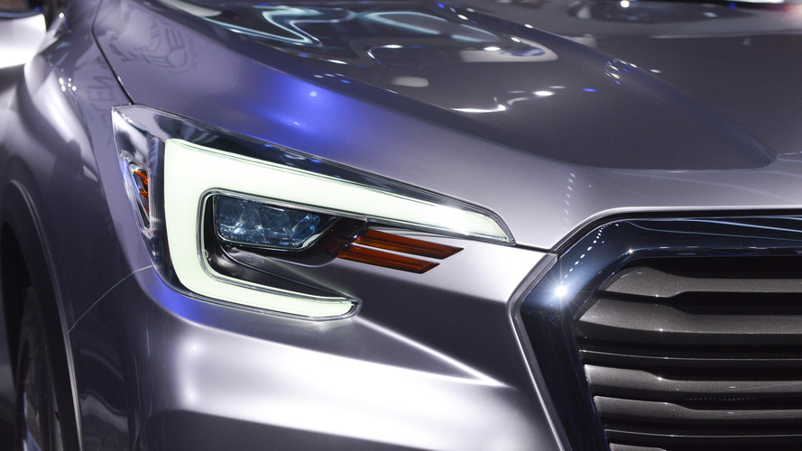 Unique Subaru Ascent Concept  New York 2017 Photo