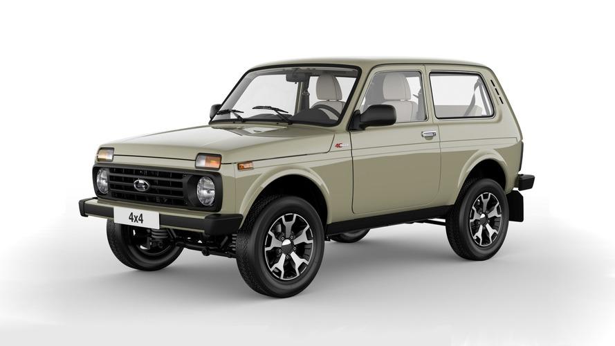 Lada 4х4 40th Anniversary Edition efsaneyi kutluyor