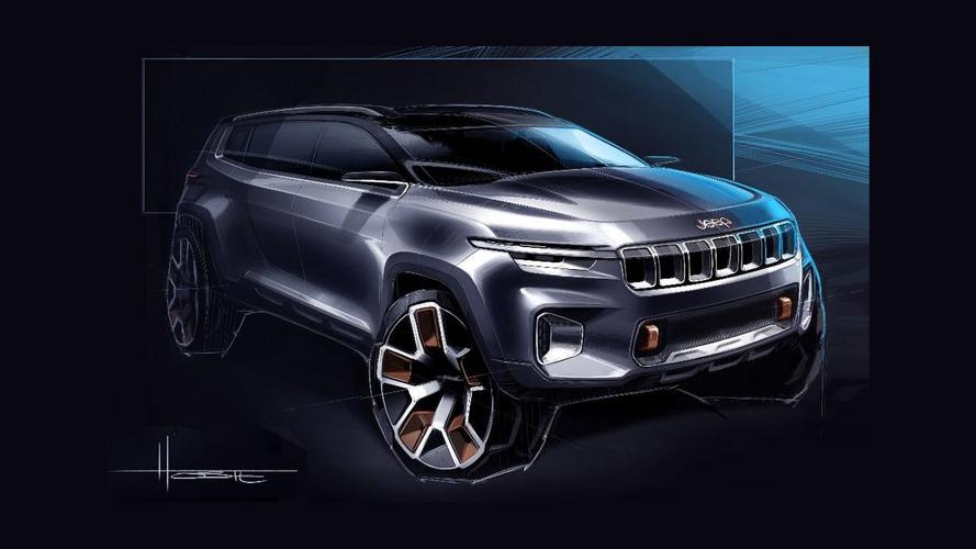 Novo Jeep Commander aparecerá como o Yuntu Concept