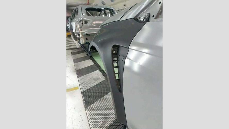 2018 Renault Megane RS leaked image