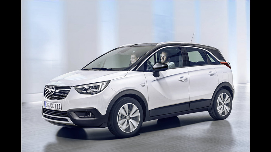Das ist der Opel Crossland X