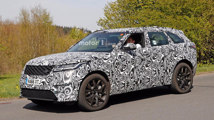 SVR-Tuned Range Rover Velar V8 Spied At The Ring
