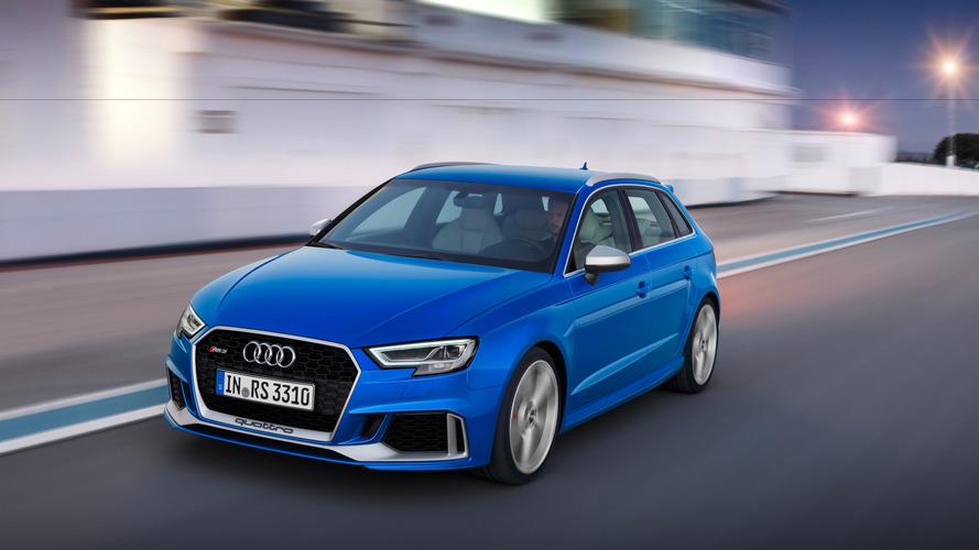 Audi RS 3 restylée - Découvrez ses tarifs français