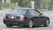 Maserati Quattroporte Facelift Spy Photos