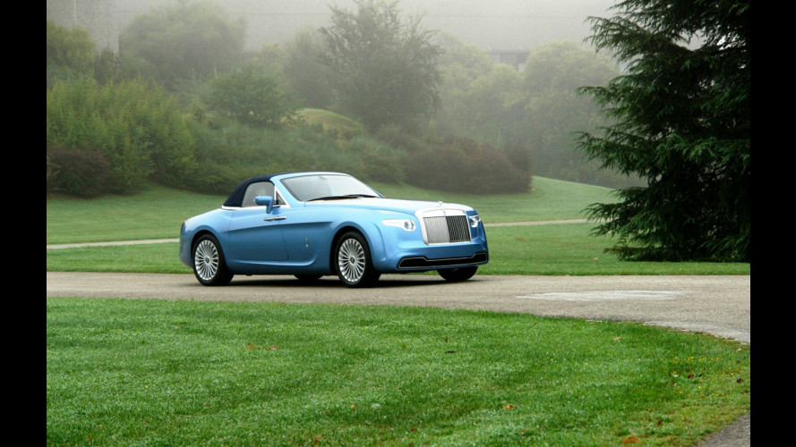 La Rolls-Royce Hyperion debutta a Dubai