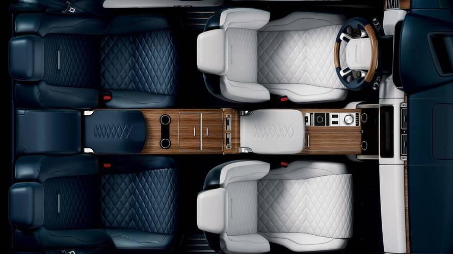Range Rover SV Coupé 2018: primer teaser del interior