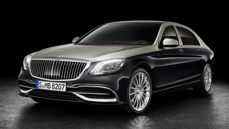 Mercedes-Maybach Classe S restyling, stella del lusso
