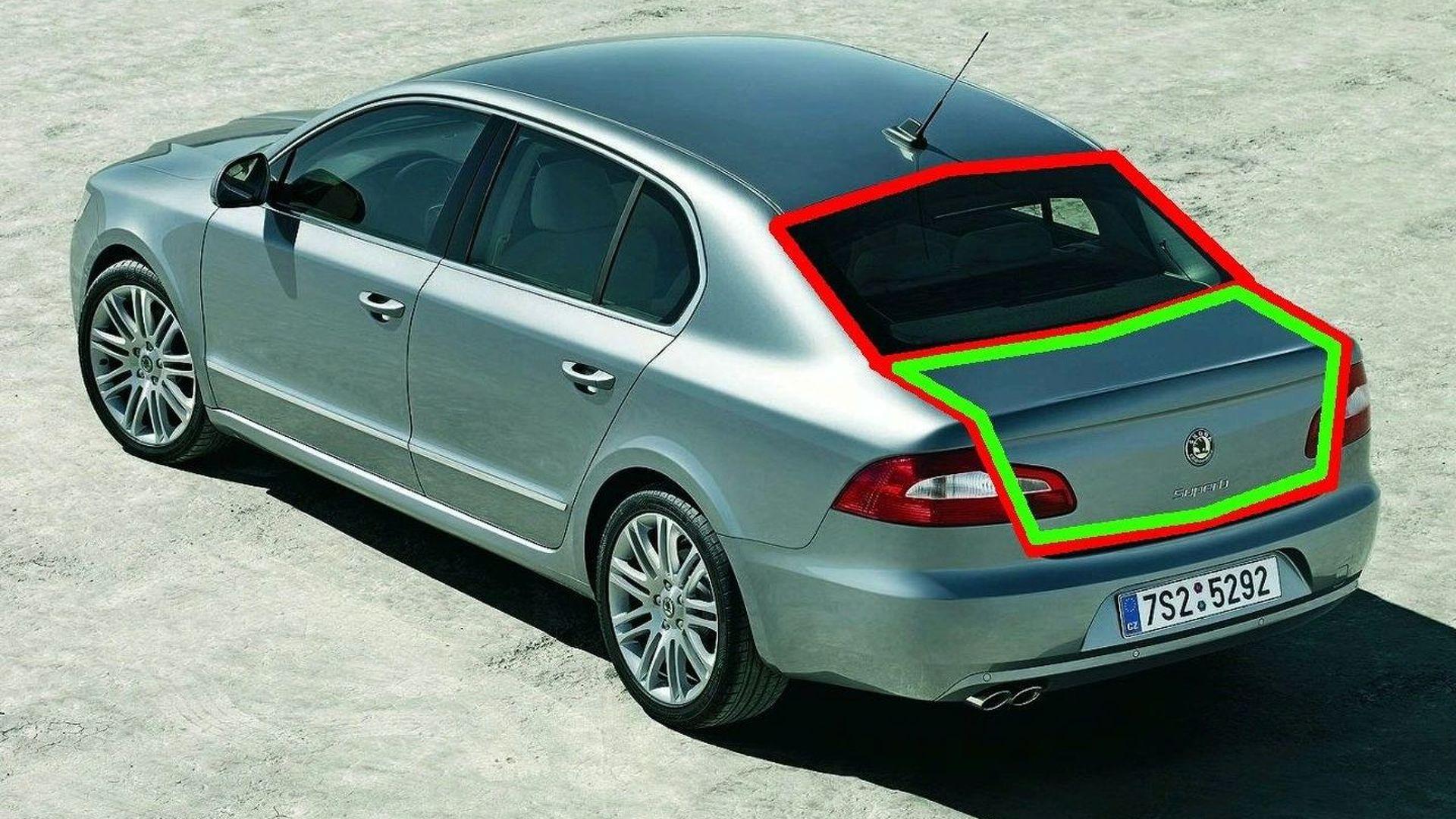 & Skoda Superb Interior and Twindoor Revealed   Motor1.com Photos
