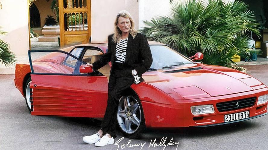 La Ferrari 512 TR de Johnny Hallyday sera vendue aux enchères