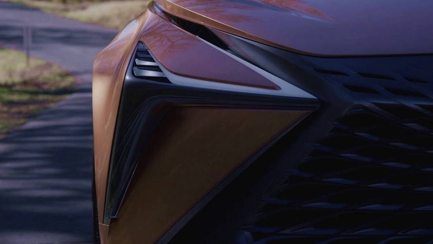 Here's the Lexus LF-1 Limitless Concept Teased One Last Time