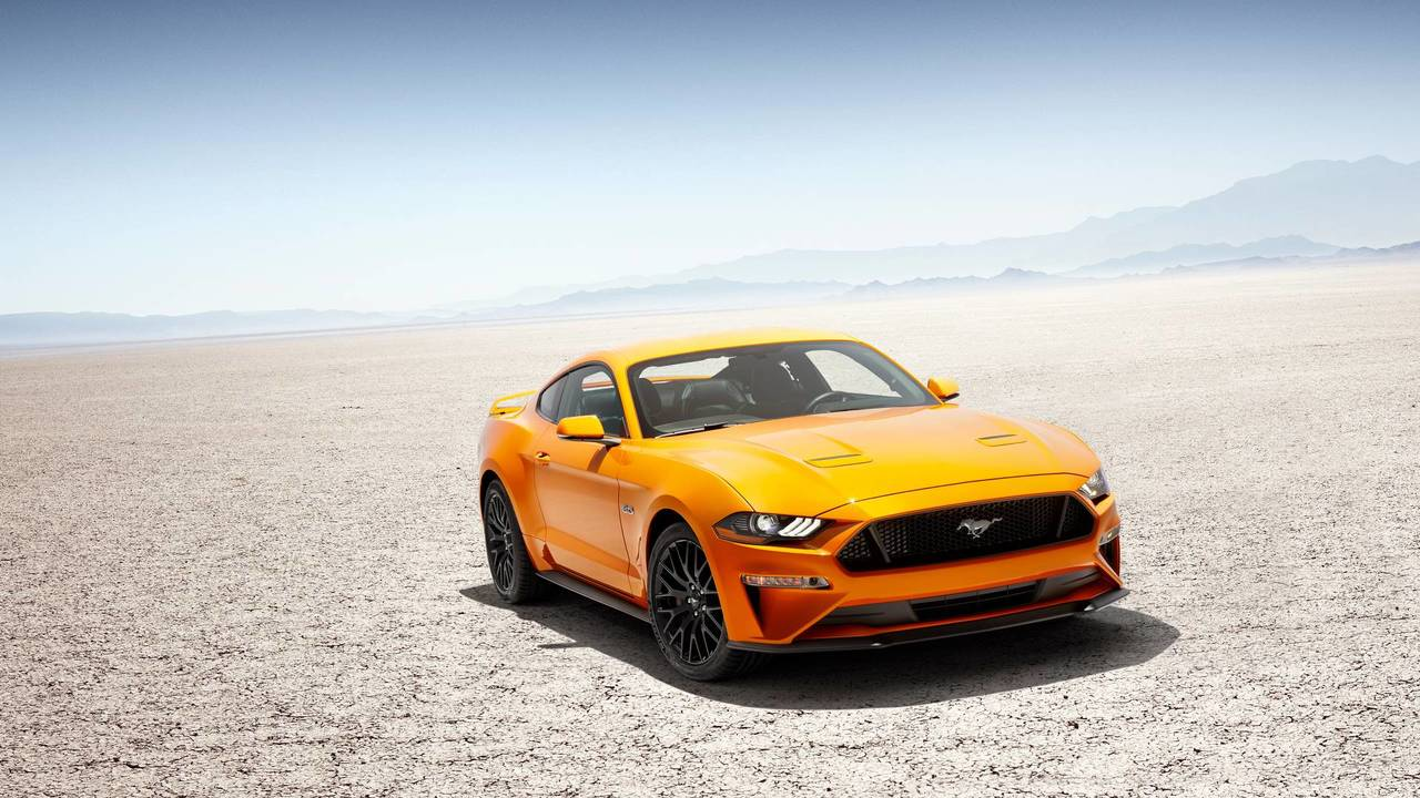 8. Ford Mustang