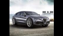Nuova Alfa Romeo Giulietta, il rendering ispirato alla Stelvio