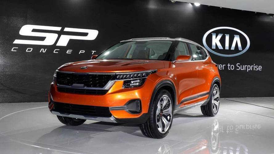 Kia Officially Debuts In India With SP Concept At Auto Expo 2018