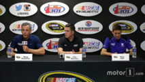 Doug Duchardt, Alex Bowman and Greg Ives