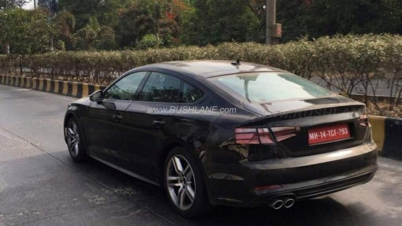 Audi A5 Fuse Diagram Wiring A3 Box 1998 2017 Sportback Spied In India With Clever Disguise Kia Optima