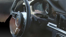 2017 Porsche Panamera interior spy photo