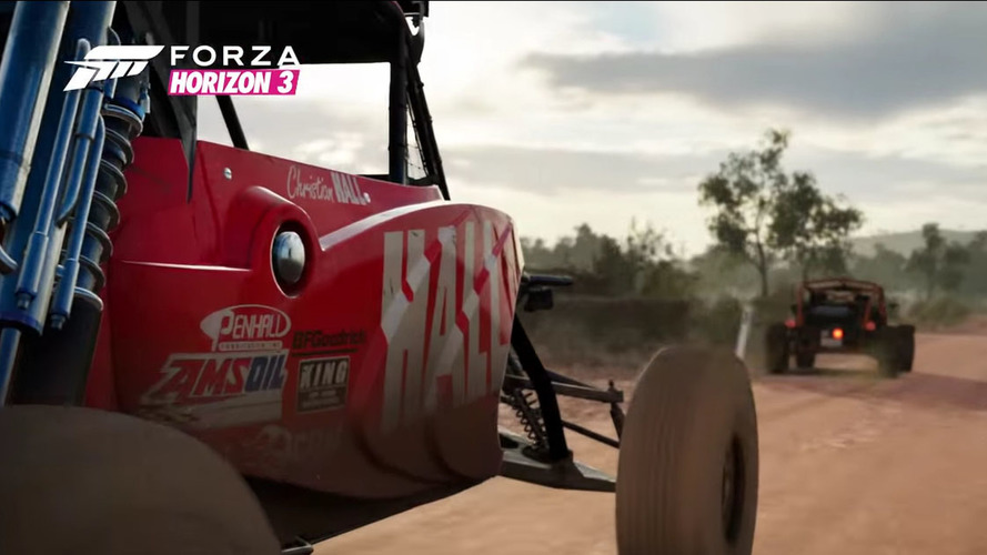 Race through the Outback in Forza Horizon 3 this fall