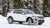 2017 Land Rover Discovery Sport spy photo