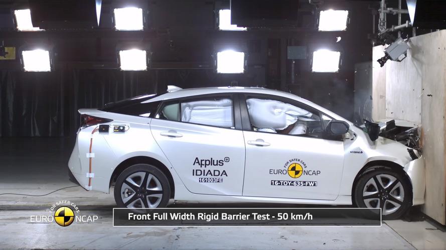 Autonomous safety tech helps Toyota Prius achieve Euro NCAP five-star rating