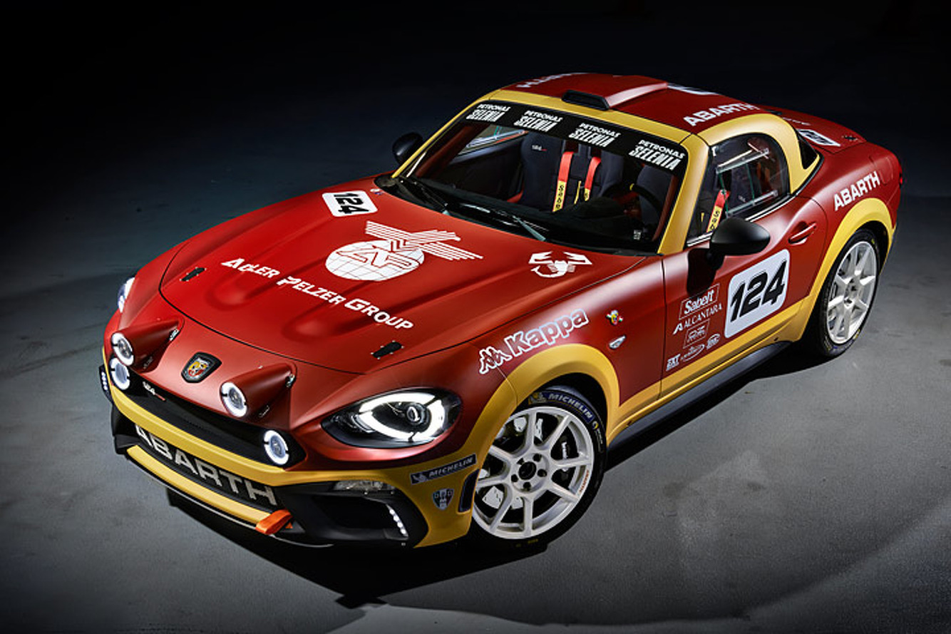 Abarth 124 Rally 2017