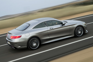 2015 Mercedes-Benz S-Class Coupe has Swarovski Crystal Headlights