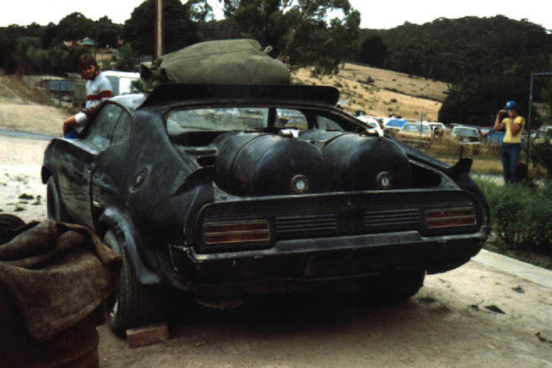 Evolution of the Mad Max Interceptor