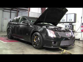 Hennessey CTS-V Sport Wagon Black Dyno Test