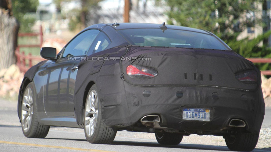 2012 Hyundai Genesis Coupe spied inside & out