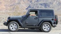 2017 / 2018 Jeep Wrangler spy photo