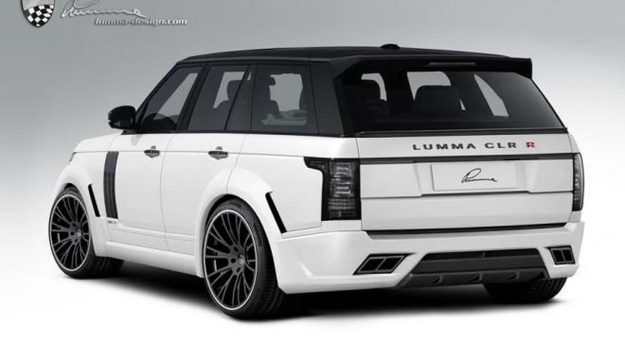 Lumma Design previews their tuning program for the 2013 Range Rover