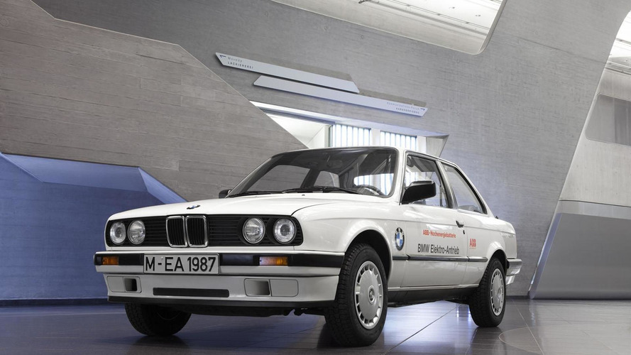 BMW celebrates 40 years of building electric vehicles