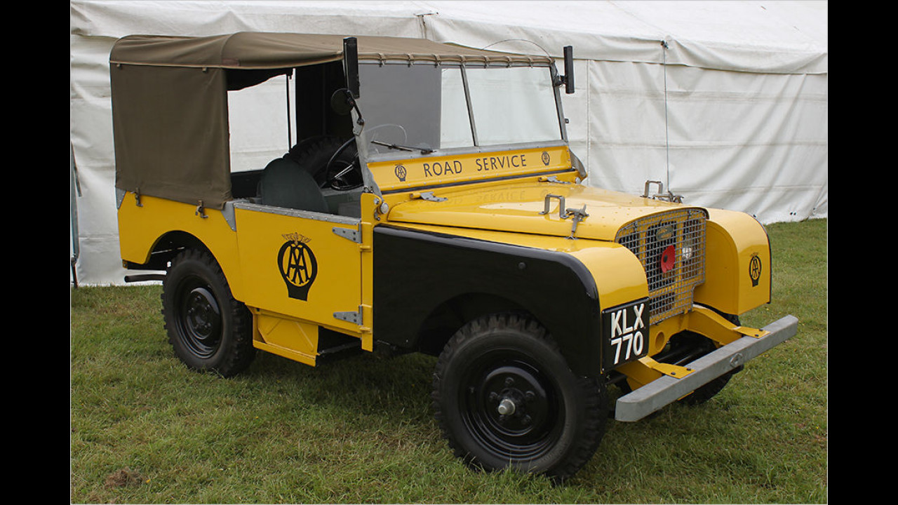 Land Rover Series I ,Automobile Association