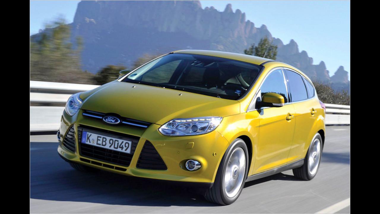 Ford Focus 1.0 Ecoboost (Gesamtsieger 2012, 2013)