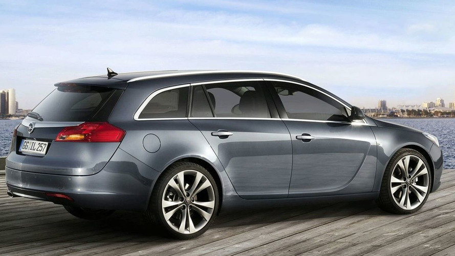 Vauxhall/Opel Insignia Sports Tourer Revealed
