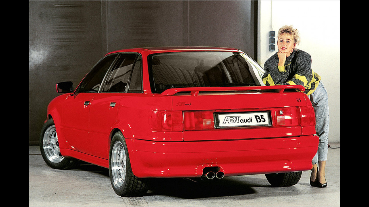 Neuer Schick für den Audi 80