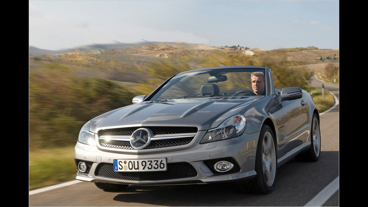 Mercedes SL 350 Sportmotor 7G-Tronic