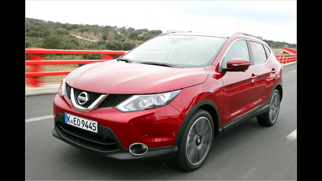 Nissan Qashqai: 25.254 Neuzulassungen