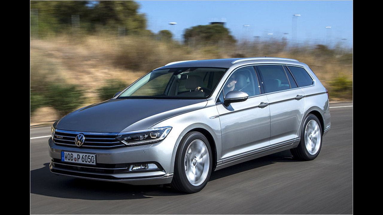 Platz 2: VW Passat, 7.168 Neuzulassungen