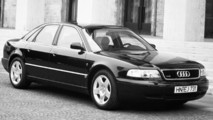 Audi A8 ao longo dos anos
