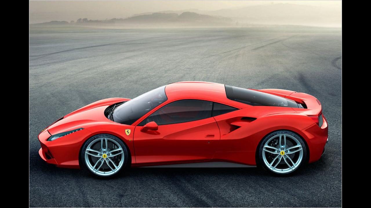 Ferrari 488 GTB: 3,0 Sekunden