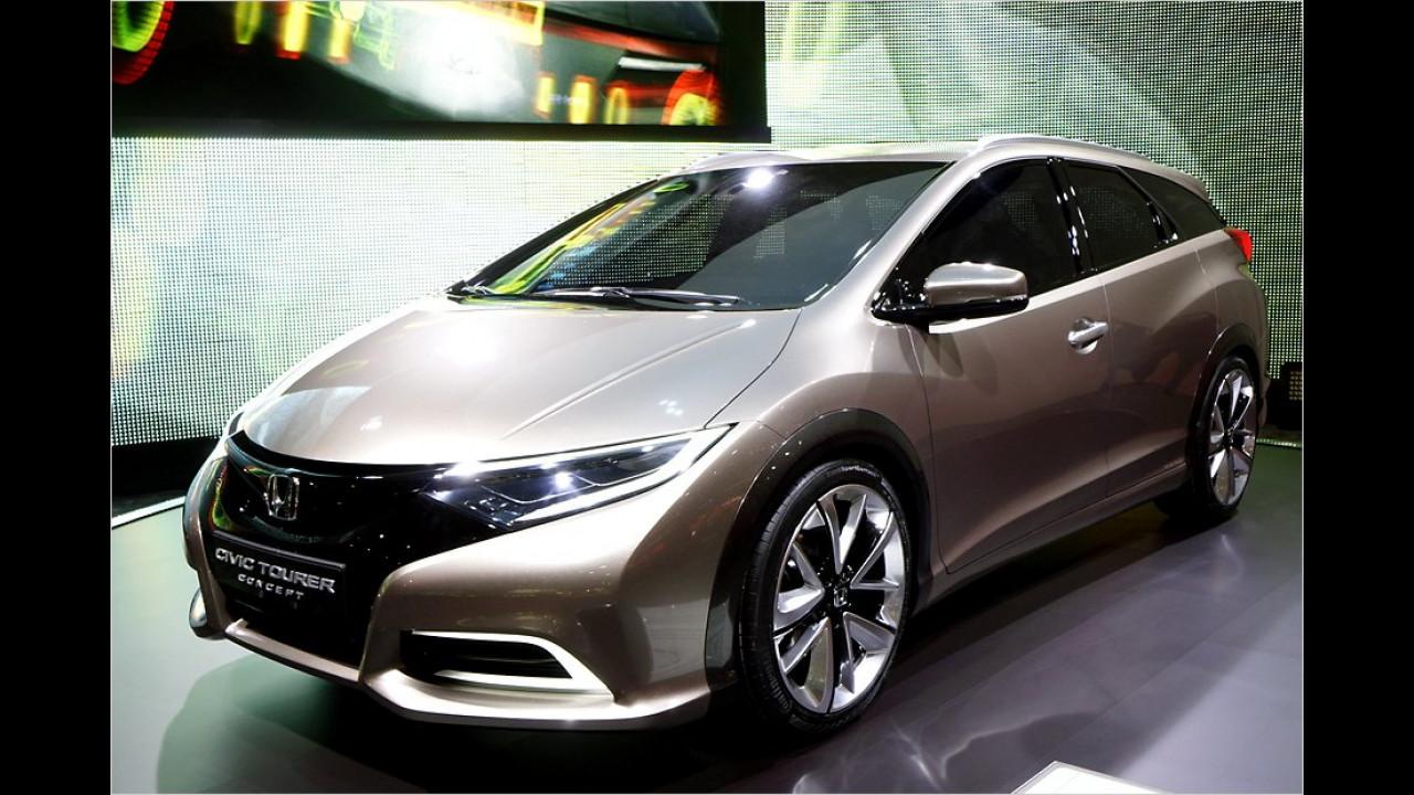 Kombi-Premiere bei Honda