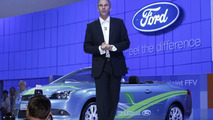 Green Ford Focus Coupe-Cabriolet Concept Unveiled