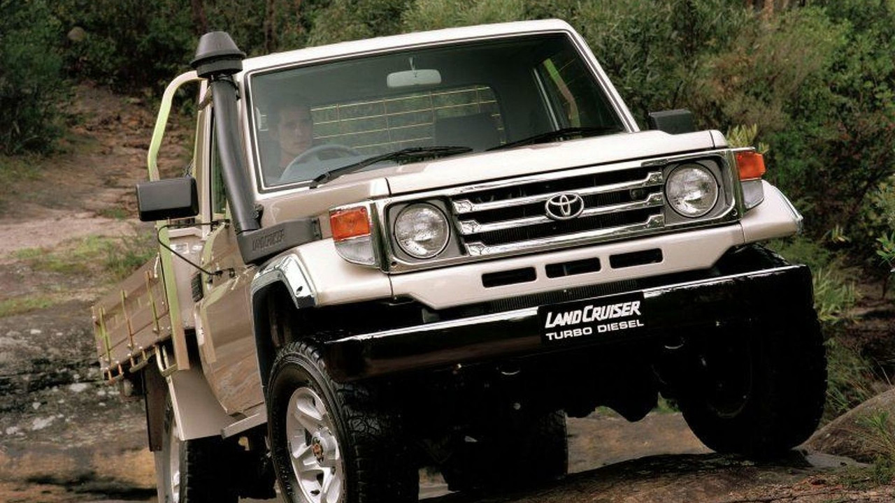 Toyota Reintroduces Landrover Muster (AU)