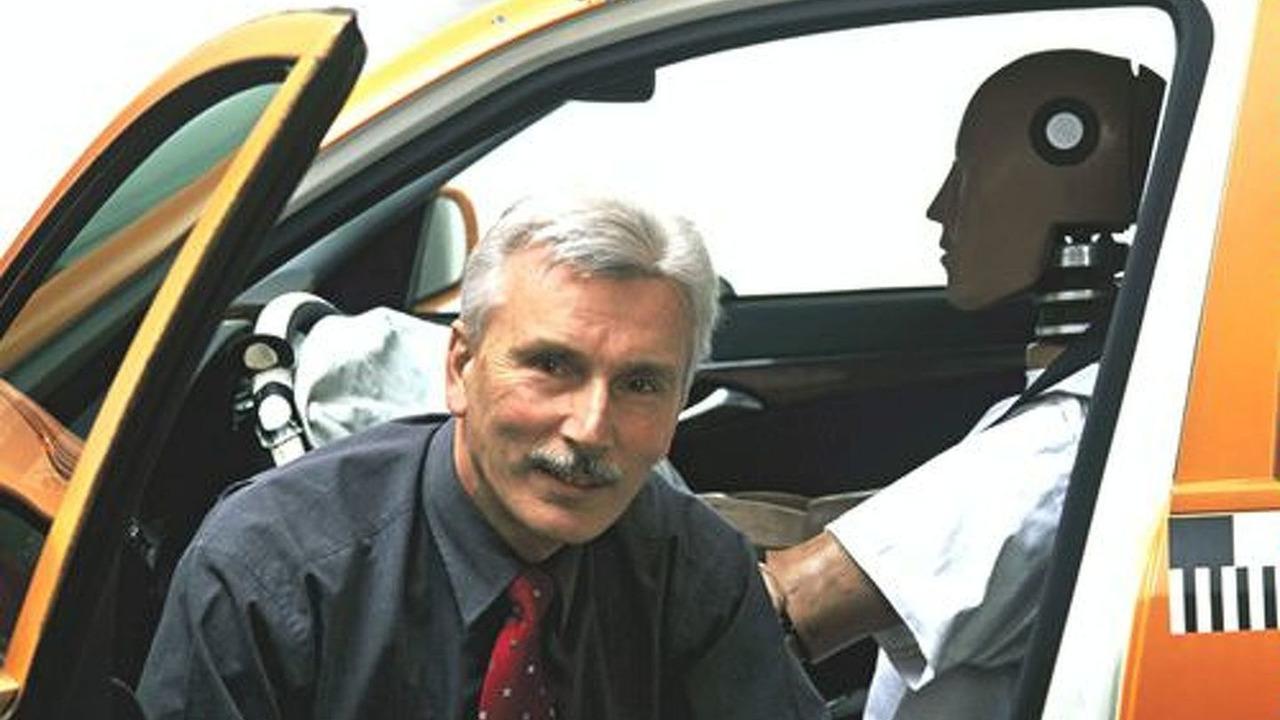 MB safety engineer Karl-Heinz Baumann