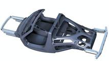 Carrera GT Carbon fiber structure